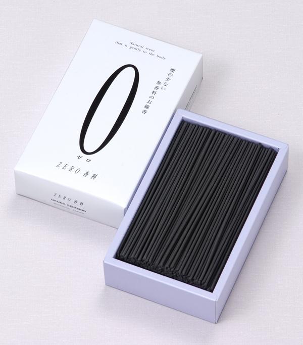 [ZERO(ゼロ)香料シリーズ] 白(大) = 無香料・お部屋が煙たくならない究極の超微煙タイプ 送料無料