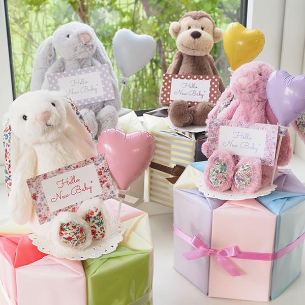 おむつケーキ Jellycat ジェリーキャット 出産祝い
