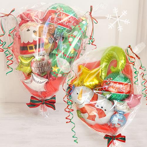 ハッピークリスマスバルーンブーケ