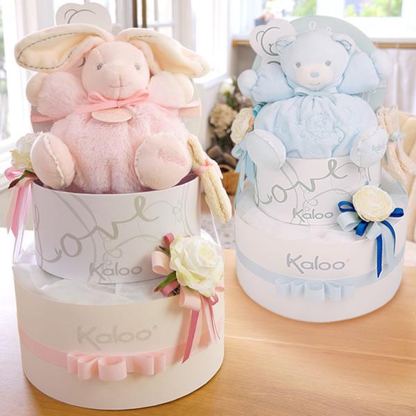 【おむつケーキ】Kaloo(カルー)パールドールおむつケーキ【正規輸入品】