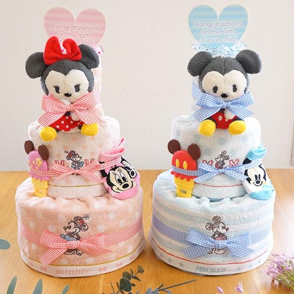 【おむつケーキ】ディズニーベビーおむつケーキ