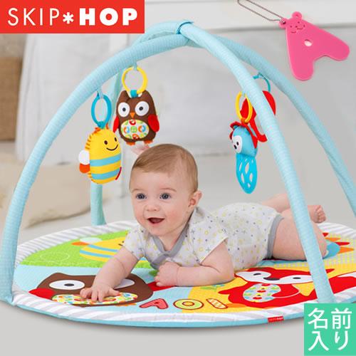 名入れ 出産祝い SKIP*HOP 名入りファンスケープ・アクティビティジム