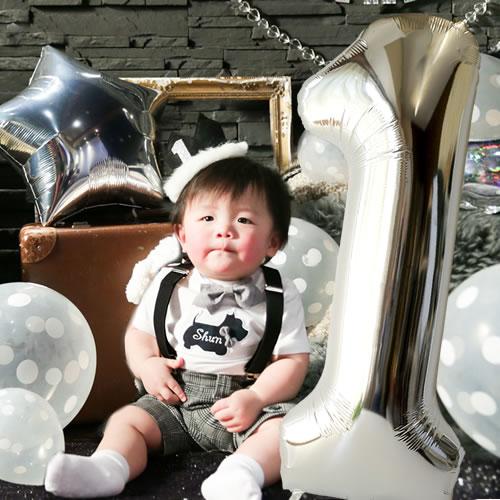 【1歳 誕生日 飾り付け】バースデー バルーン~1~