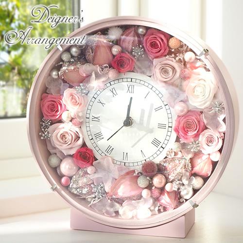 【プリザーブドフラワー】デザイナーズコレクション 花時計