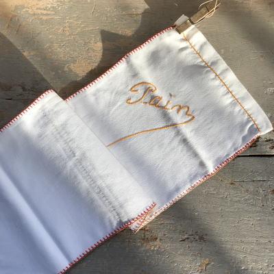 E-021 フランスアンティークリネン袋 バゲットケース&ペグ