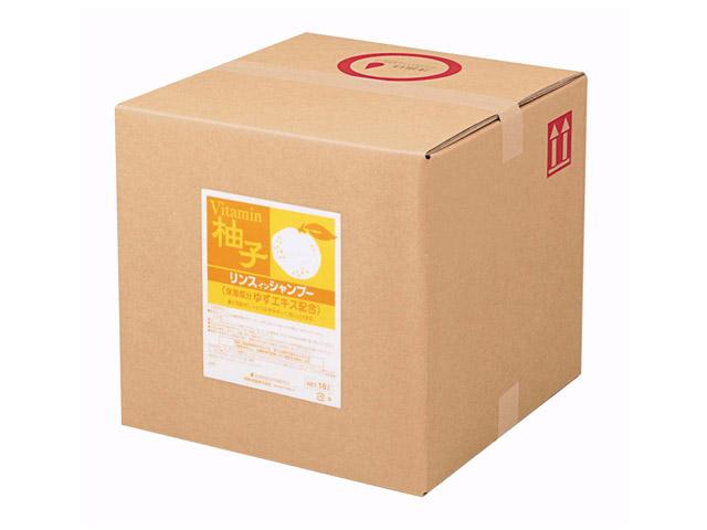 熊野油脂(KUMANO) SCRITT ゆず リンスインシャンプー18L