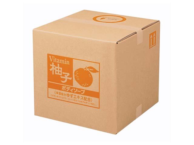 熊野油脂(KUMANO) SCRITT ゆず ボディソープ18L