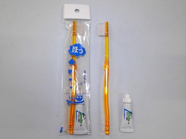 ほっとシリーズ 歯ブラシL-2A-3.5g 入数:500本 単価:24円