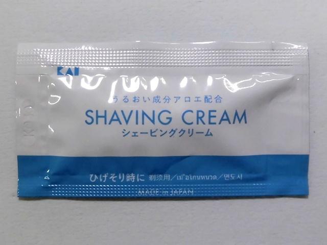 貝印 シェービングクリーム 3g 入数:2500 単価:6円