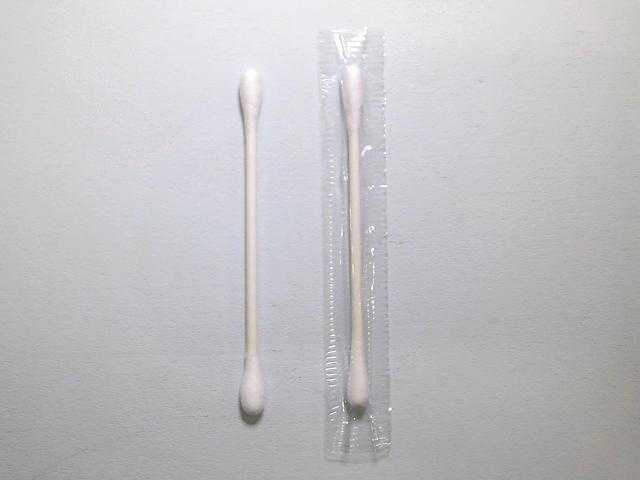 【少ロット】綿棒 白(個包装)CTM-01-WM 入数:2000本 単価:2円