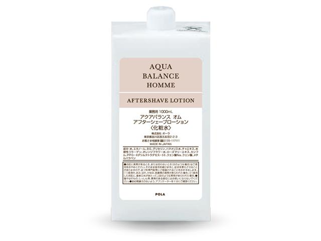 ポーラ(POLA) アクアバランス オム アフターシェーブローション 〈化粧水〉 入数:6 単価:2500円