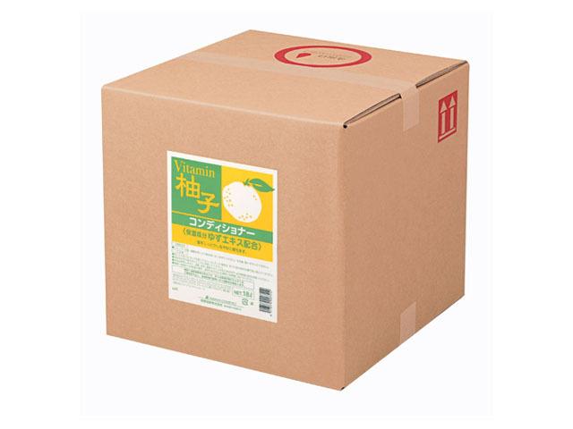 熊野油脂(KUMANO) SCRITT ゆず コンディショナー18L