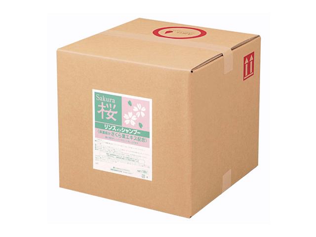 熊野油脂(KUMANO) SCRITT さくら リンスインシャンプー18L