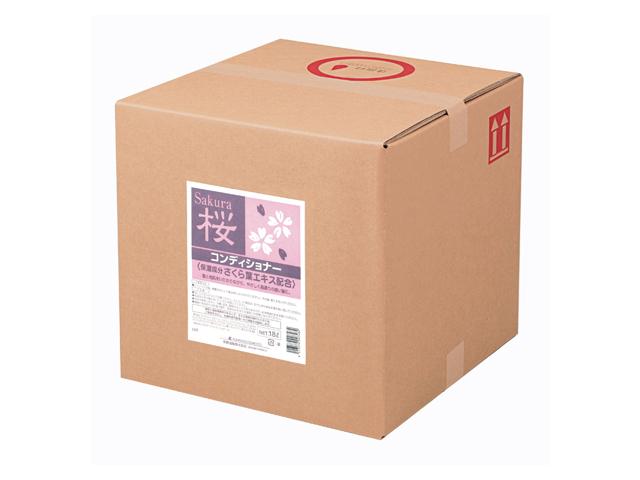 熊野油脂(KUMANO) SCRITT さくら コンディショナー18L