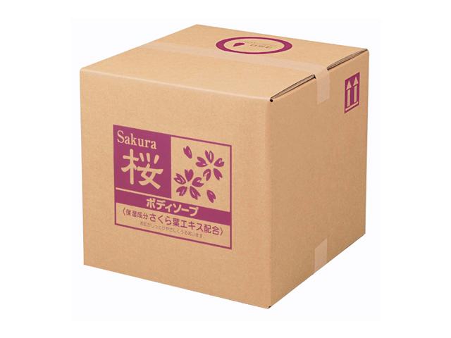 熊野油脂(KUMANO) SCRITT さくら ボディソープ18L