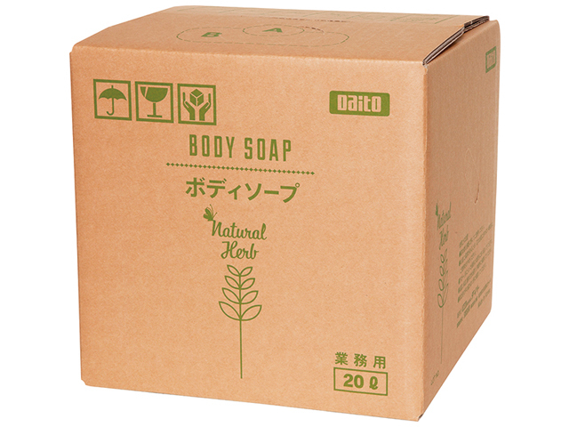 ダイト(Daito) ナチュラルハーブボディソープ20L 入数:2箱 単価:4500円