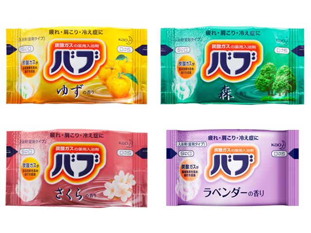 花王(KAO) バブ 40g 入数:160 単価:40円