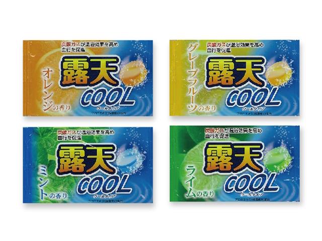露天クール20g 4種アソート(ミント、グレープフルーツ、オレンジ、ライム) 入数:400 単価:30円