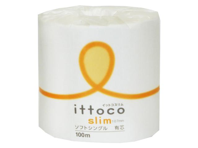 イトマン(ITOMAN) イットコSLIM 1ロール100mソフトシングル 入数:60 単価:60円