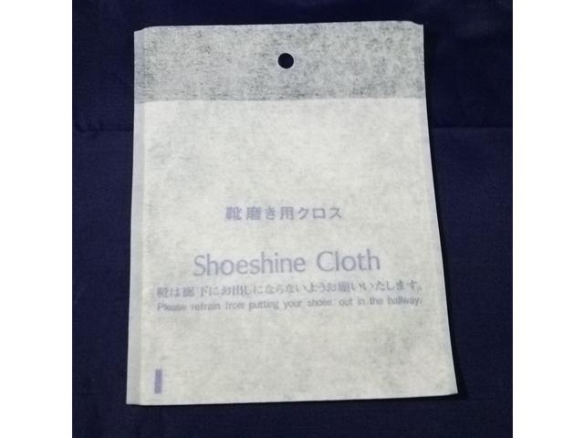 【少ロット】靴磨き用クロス 入数:500枚 単価:10円