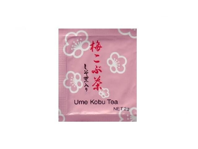 (有)駿河園(Surugaen) ナニワ梅昆布茶2gアルミタイプ 入数:1000個 単価:15.5円