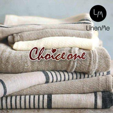 メール便送料無料 【LinenMe / リネンミー】リネン バスタオル チョイス・ワン リトアニア製