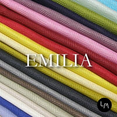 リネンミー LinenMe リネン生地 エミリア リネン100% リトアニア製 布幅150cm