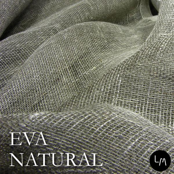 【ストール,カーテン,装飾用生地】リネンミー LinenMe リネン生地 エヴァ ナチュラル  (布幅 160cm) リネン100% リトアニア製