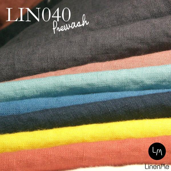 布幅140±2cm やわらかリネン【洋服,テーブル,インテリア用生地】リネン生地 LinenMe リネンミーブランド洋服専用生地 LIN040 リネン100% リトアニア製