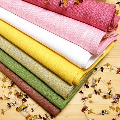 リネンミー LinenMe リネン テーブルナプキン メランジ織り 『ルーシアMW』  リネンミー LinenMe リネン100% リトアニア製