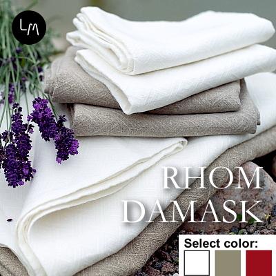 リネンミー LinenMe リネン バスタオル ロームダマスク 73x124cm リネン100% リトアニア製