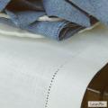 リネンミー LinenMe リネン テーブルランナー テラー オフホワイト 50 x 140