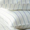 リネンミー LinenMe リネン枕カバー ブルーストライプ 【63X43cm】リトアニア製