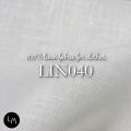 【洋服,テーブル,インテリア用生地】リネンミー LinenMe リネンミーブランド洋服用生地 LIN040 オプティカルホワイト(布幅 150cm) リネン100% リトアニア製