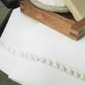 リネンミー LinenMe リネン ミニタオル クラウン 35 x 50 オフホワイト