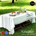 リネンミー LinenMe リネン テーブルクロス トスカニー 140 x 250 プレウォッシュ加工(やわらかリネン) リネン100% リトアニア製