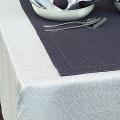 リネンミー LinenMe リネン テーブルクロス ダマスク織り ローム 150 x 150