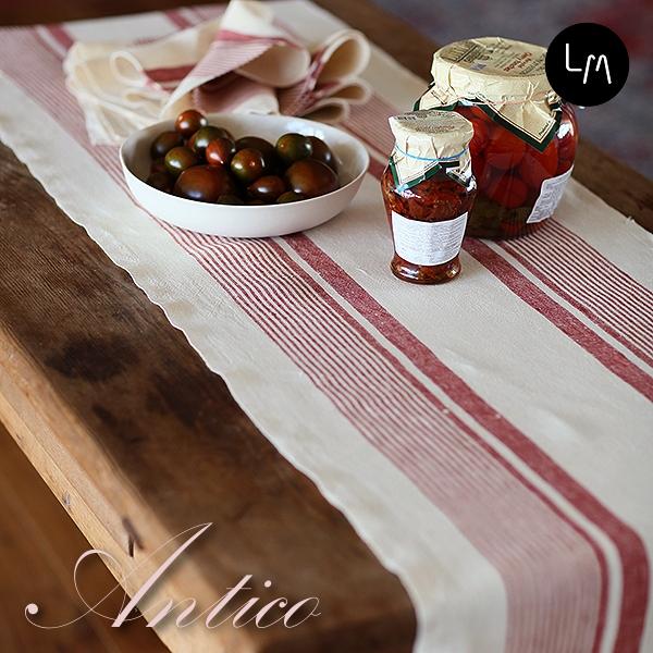 リネンミー LinenMe リネン テーブルランナー アンティコ 43 x 150cm リネン100% リトアニア製