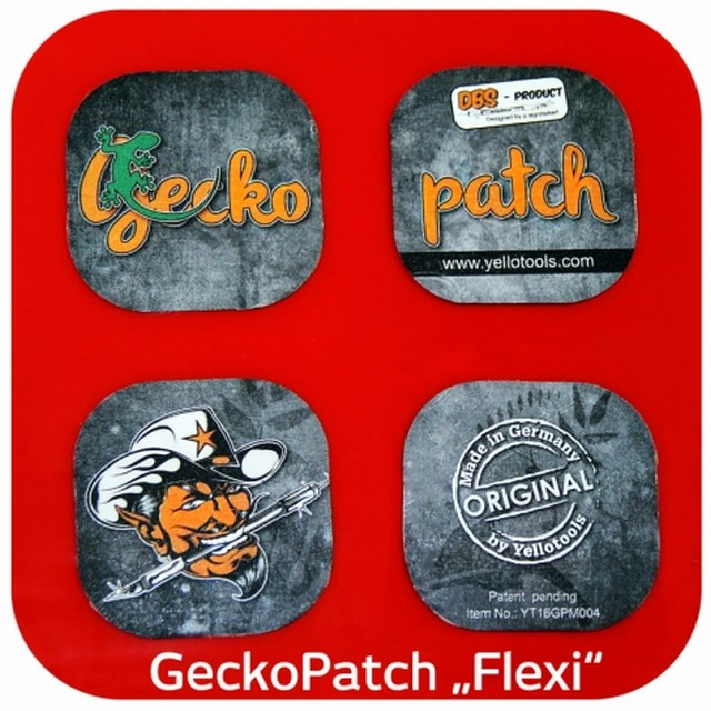 YELLOTOOLS(イエローツールズ)  GeckoPatches Flexi 『ゲッコーパッチフレキシ』