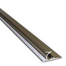 『セーフティールーラープラチナ 2m』 安心安全アルミ定規