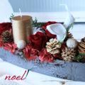 クリスマス インテリア  クリスマス 花  クリスマス プリザーブドフラワー  クリスマスアレンジ プリザーブドフラワー