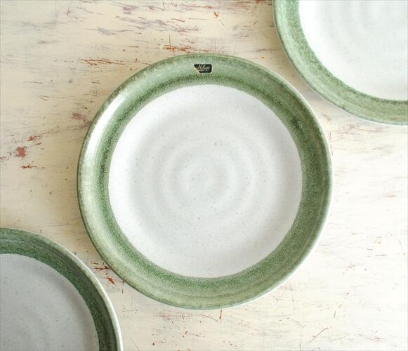 デッドストック スウェーデン Nittsjo 21cm プレート ニトア 北欧食器 お皿 磁器 北欧 ヴィンテージ アンティーク