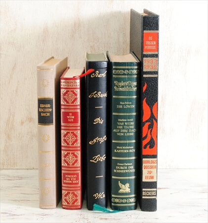 1970-80年代 スペイン語 ドイツ語 オランダ語古い洋書 5冊セット ディスプレイ 古書 アンティークブック