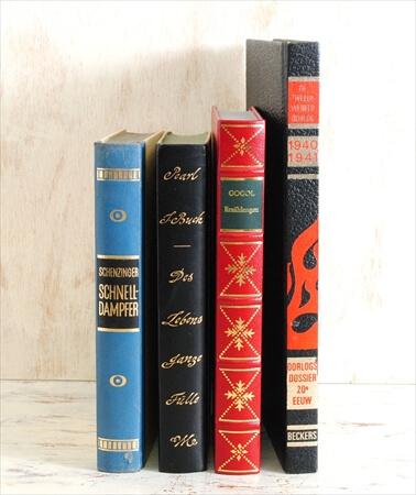 1970-80年代 ドイツ語 オランダ語古い洋書 4冊セット ディスプレイ 古書 アンティークブック
