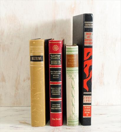1920-80年代 ドイツ語 オランダ語古い洋書 4冊セット ディスプレイ 古書 アンティークブック