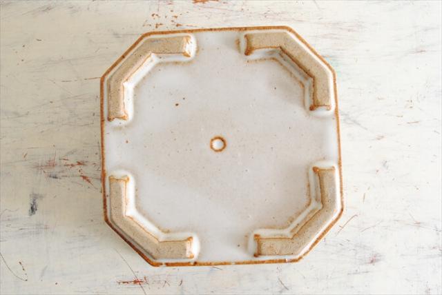ドイツ製 陶器 絵付け鉢カバー 15.5x14.5cm 鉢 花瓶 花器 おしゃれ アンティーク ポット