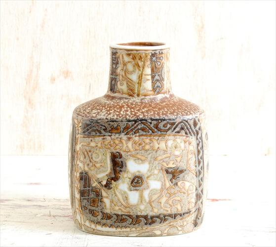Royal Copenhagen Fajance Baca 花瓶 一輪挿し Nils Thorsson 魚柄 ロイヤルコペンハーゲン ファイアンス 北欧 花器
