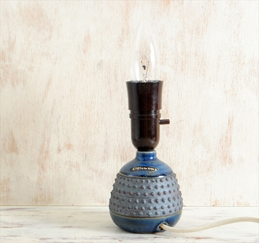 スウェーデン製 EGO STENGODS 陶器 デスクランプ Rolf palm 北欧 照明 ライト ヴィンテージ アンティーク
