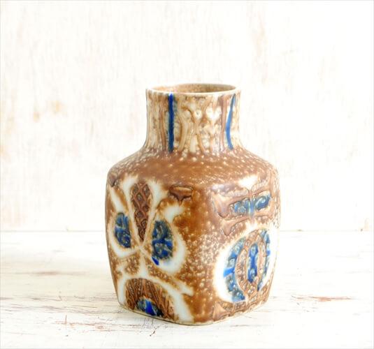 Royal Copenhagen Fajance Baca 花瓶 一輪挿し Nils Thorsson ロイヤルコペンハーゲン ファイアンス 北欧 花器