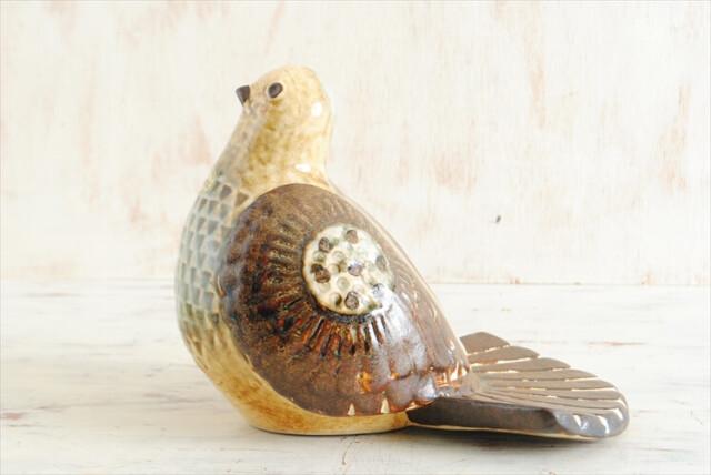 デンマーク製 Soholm 陶器 鳥のオブジェ スーホルム JOSEPH SIMON インテリア 北欧 インテリア アンティーク